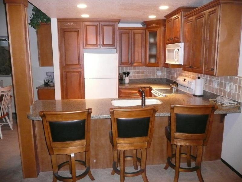 Newly remodeled kitchen - Condo Beautifully Remodeled, Near Jacuzzi, Shuttle - Mammoth Lakes - rentals