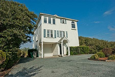 Exterior - 7's Heaven, 619 S. Topsail Dr, Sound Front ~~SAVE UP TO $160!!~~ - Surf City - rentals