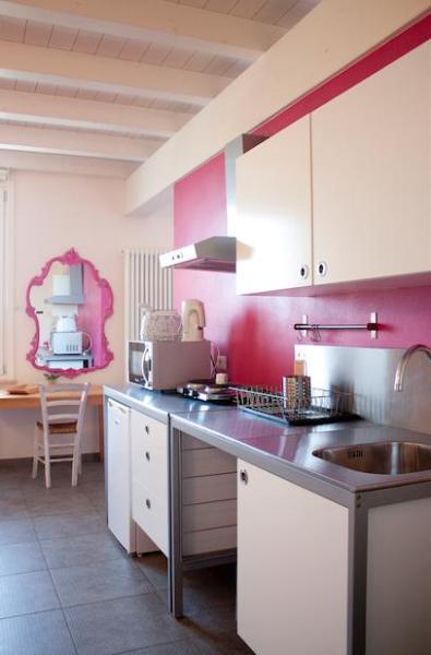 Kitchen / Cucina - Apartment in Mantova -  Agriturismo Beatilla - Marmirolo - rentals
