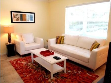 Living Room - Las Olas / Victoria Park - Adorable 1 bedroom - #7 - Fort Lauderdale - rentals