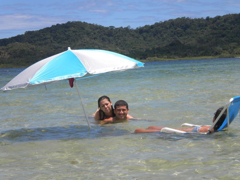 Maré cheia - Frente ao mar  no Paraiso de Cações_Apt 3 quartos - Jaguaripe - rentals