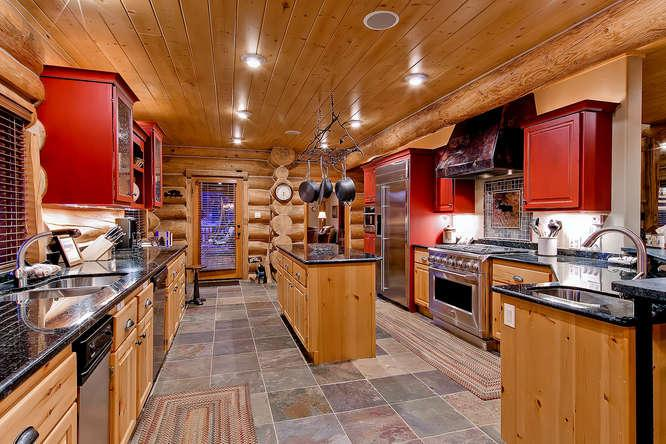 River Lodge-Log home with private fishing access - Image 1 - Breckenridge - rentals