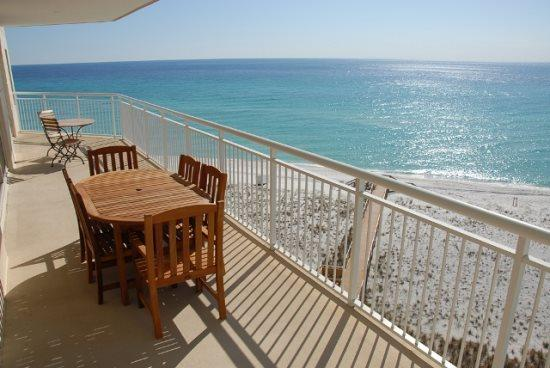 Balcony - Belle Mer 602 - Navarre - rentals