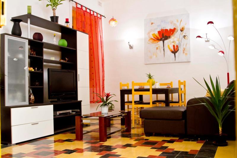 Living room/Media - Sliema Seaside Boutique Apartment - Sliema - rentals