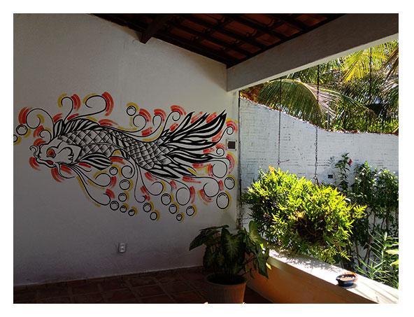 Large and sunny balconies - Beach House Rentals - Morro Branco/Ceará - Brazil - Beberibe - rentals