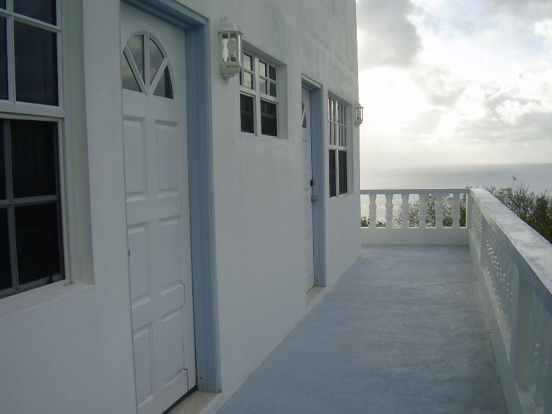 Bedroom Access to Balcony - CHERRY HILL APARTMENT,  CARRIACOU, GRENADA (NEW) OPENING RATES TILL AUGUST 2014 - Carriacou - rentals