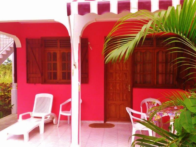 front - Vacation rental house 2-4 pers Deshaies beach 700m - La Roche-l'Abeille - rentals