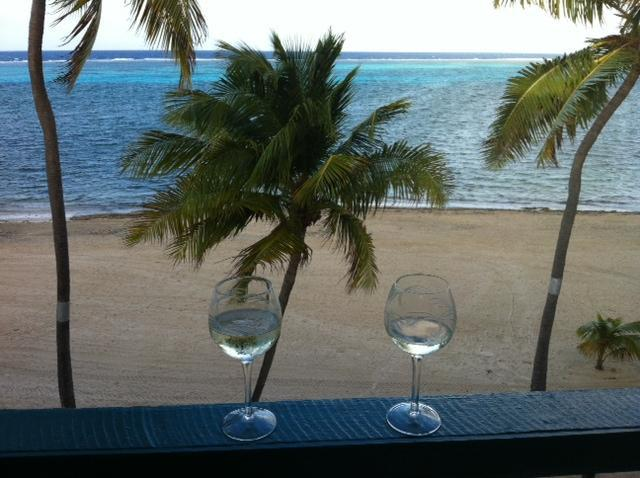 View from the covered balcony - Don't be Crabby stay with us....affordable luxury on the beach! - Christiansted - rentals