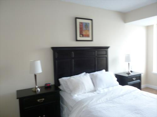 Master Bedroom - Lux 2BR w/ balc near Bethesda Row - Bethesda - rentals