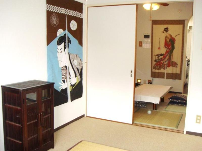 from the balcony to kitchen through bedroom and living room - Shinjuku 2-6 sleep 2 Bedroom Private Apt. Tokyo - Shinjuku - rentals