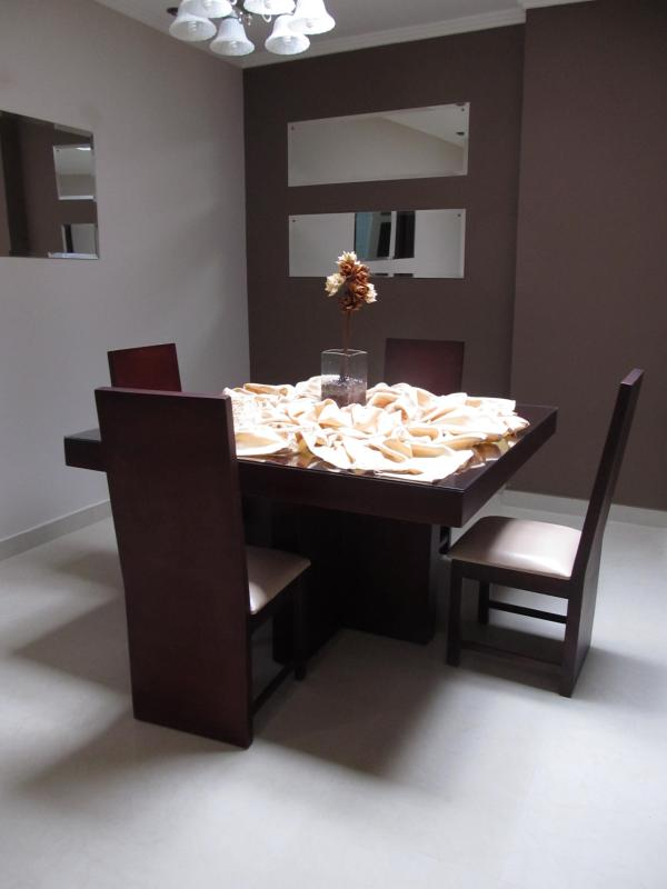Natural light on dining room from skylight - Spacious & Modern Condo, NOW WITH WINDOWS. - Cuenca - rentals