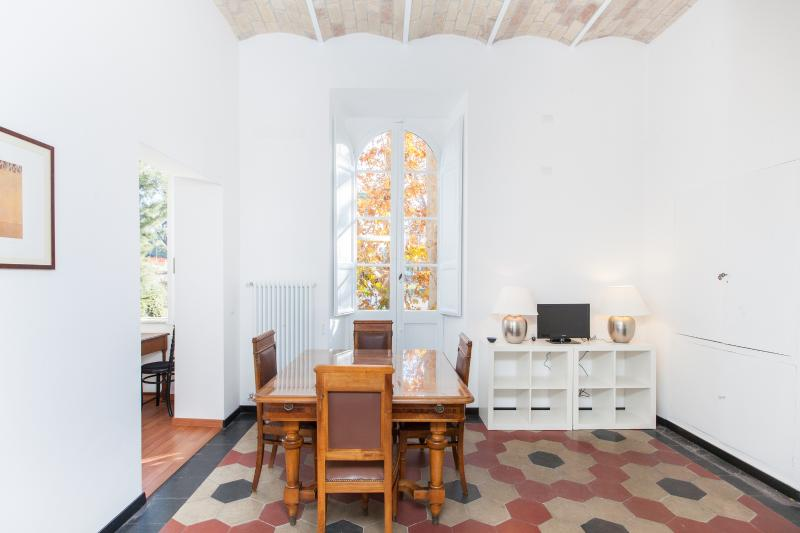 Living Room - Bright apartment with view on the Coliseum - Rome - rentals