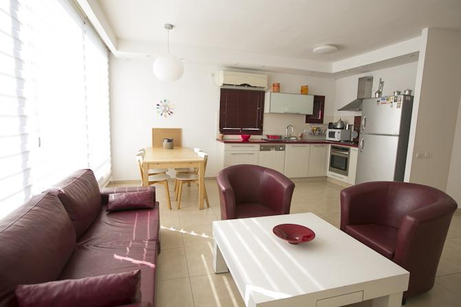 Living Room - Cozy and Wide 3bd In Hot Spot North of Dizengoff - Gedera - rentals