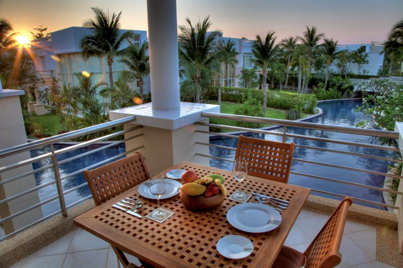 Stunning Views from the outdoor terrace - Blue Lagoon Resort Hua Hin Villas - Hua Hin - rentals
