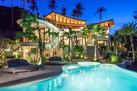 Ocean view Villa Kya- near beach, 3-tier infinity pool & roof terrace - Image 1 - Brindisi - rentals