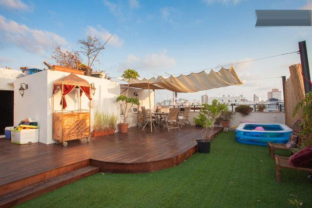 Rooftop Terrace and Cocktail Bar - Stunning Luxurious Rooftop Duplex TLV Hilton Beach - Gedera - rentals