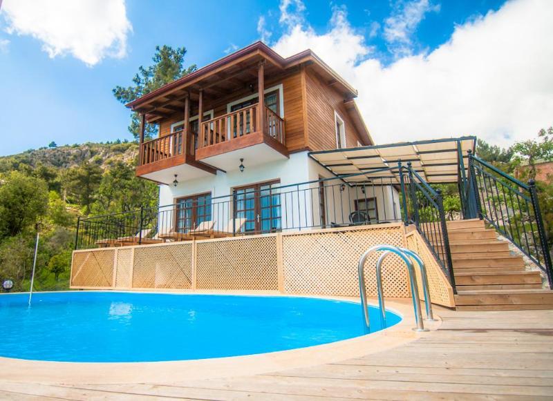 Exterior & Pool - Villa Sedir, Natural and Relaxing Holiday - Kalkan - rentals