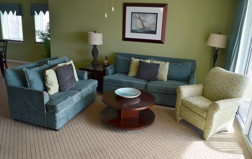 Beautifully decorated living area - Best @ Barefoot! Great 3BR Yacht Club 2-601 - North Myrtle Beach - rentals