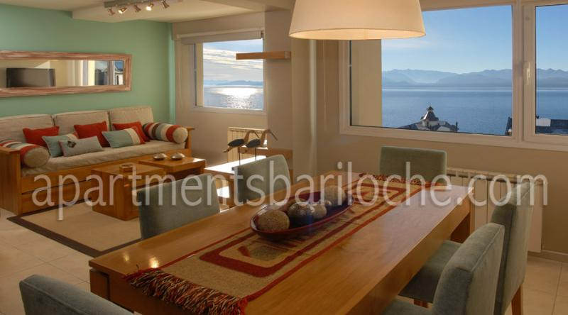 LUXURY 2 BEDROOM/ 1 BATH (SM3) AMAZING LAKE VIEWS! - Image 1 - San Carlos de Bariloche - rentals