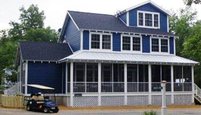 Screened in porch view - KIDS LOVE PARK PLACE Beachwalk Resort  + Golf Cart - Michigan City - rentals