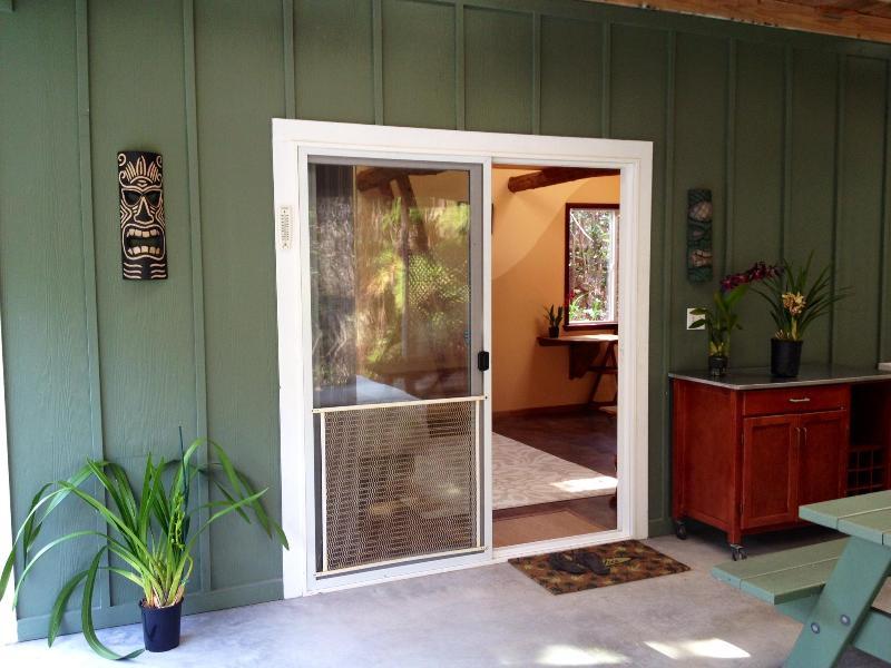 Entrance - Peaceful and Cozy Studio in Volcano - Volcano - rentals
