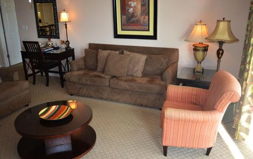 Spacious living area with plush seating and balcony access - Splendid 3BR waterfront condo, Yacht Club 3-303!!! - North Myrtle Beach - rentals