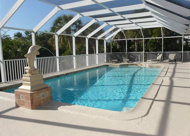 Spacious house on oversized lot with two master suites and heated pool - Image 1 - Marco Island - rentals