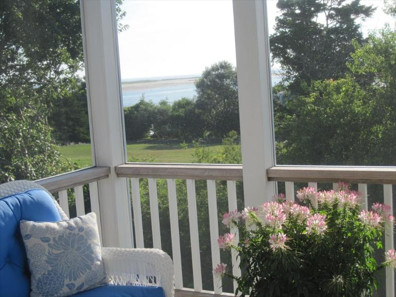 View from screened porch - 35 Whistler Lane 119822 - Chatham - rentals
