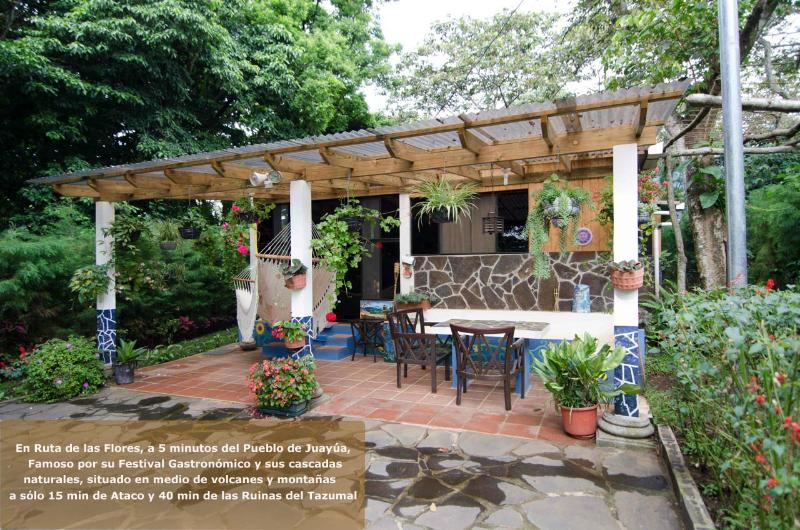 Log Cabin FOR RENT in Juayua, El Salvador - Image 1 - Juayua - rentals