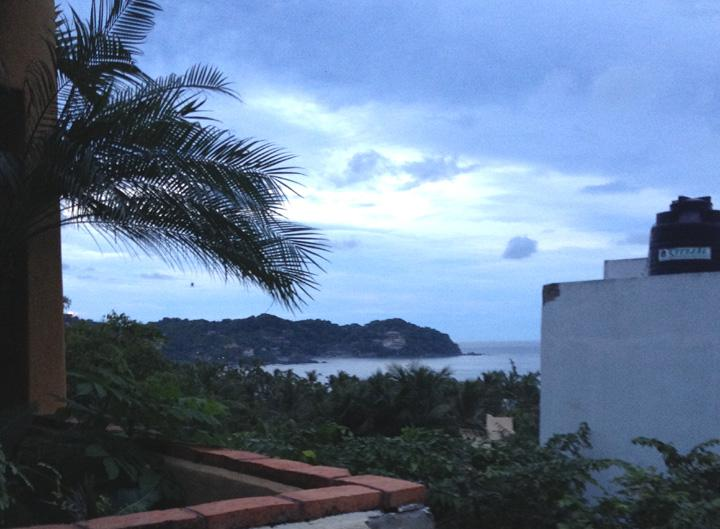 Ocean View from #1 Peek A View - PEEK A VIEW #1 Ocean View at Casitas Sayulita - Sayulita - rentals