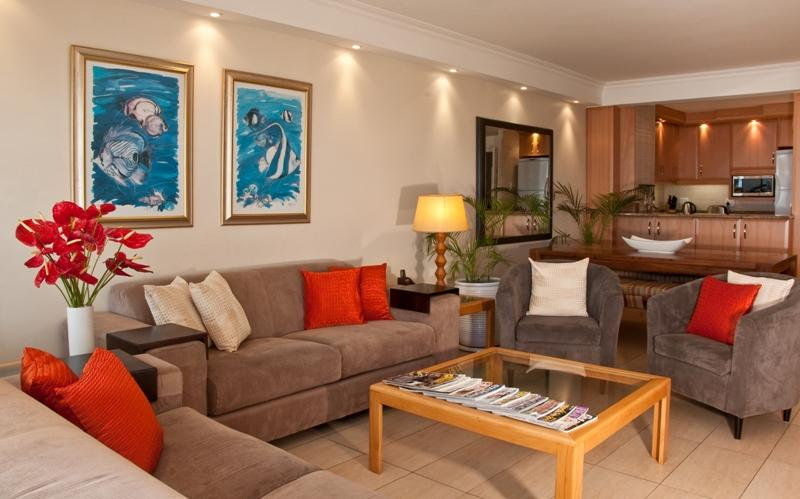 The open plan lounge - Ben Siesta 105 - Umhlanga Rocks - rentals