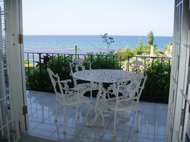 View from Living Room - Ocean Front Beach Condo in Ocho Rios Jamaica - Mandeville - rentals