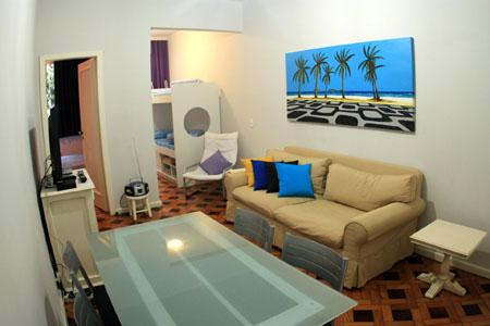 Beautiful 2 bedroom apartment. Great location in the best part of Ipanema! Cod: 2-101 - Image 1 - Itanhanga - rentals