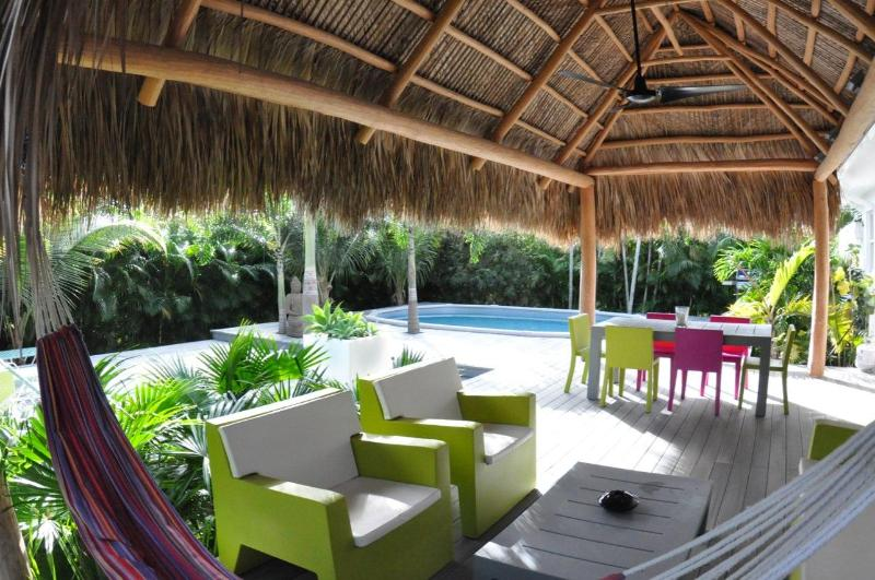 outside - CHILL HOUSE with heated pool and tropical garden - Coconut Grove - rentals