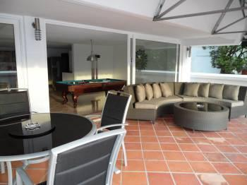 the deck - 5 Bedroom Penthouse, huge deck hot tub pool table - Medellin - rentals