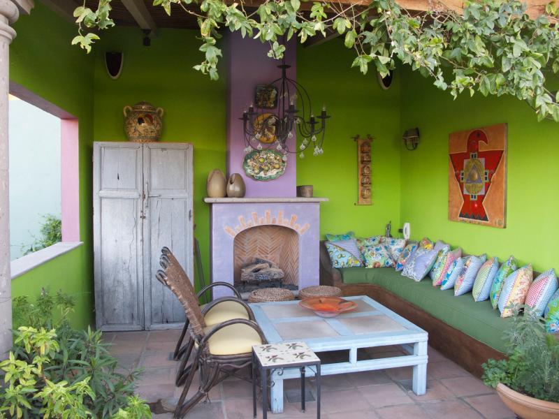 Roof Terrace Seating Area - Casa Aldea - San Miguel de Allende - rentals