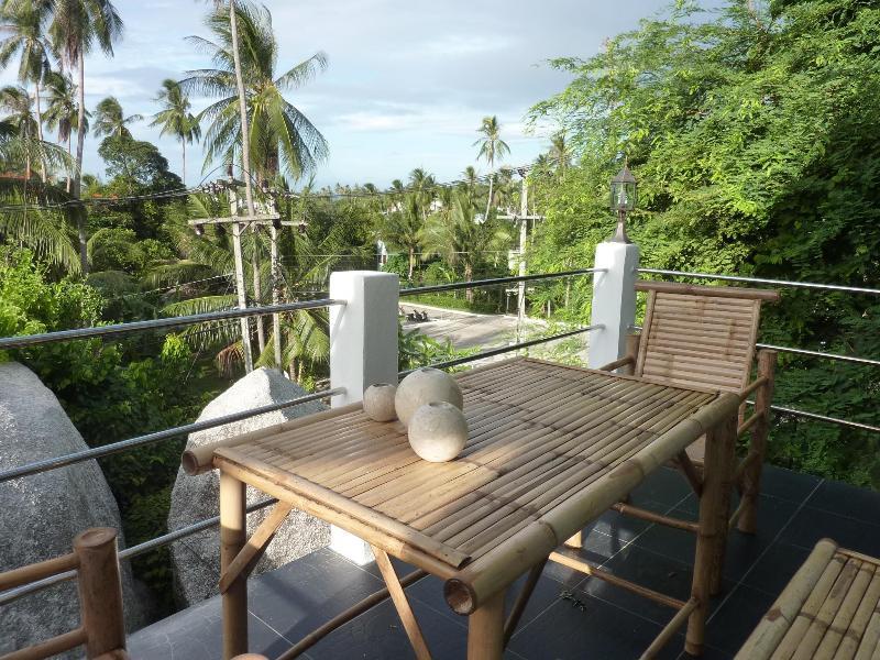Balcony - 1 BDR SEA VIEW APART. SUPER SPECIAL PRICE - Koh Samui - rentals