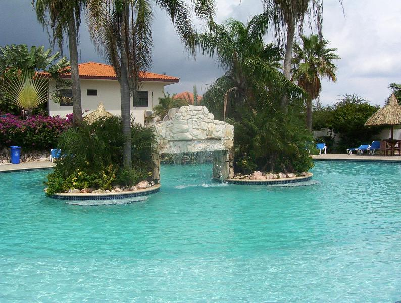 Swimming pool - Beautiful apartment in Seru Coral Resort A144 - Christoffel National Park - rentals