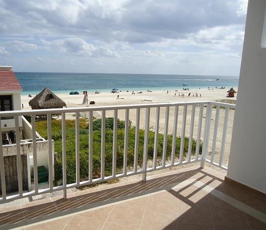 Balcony ocean view - CORALES Ocean view 2BR suite - Puerto Morelos - rentals