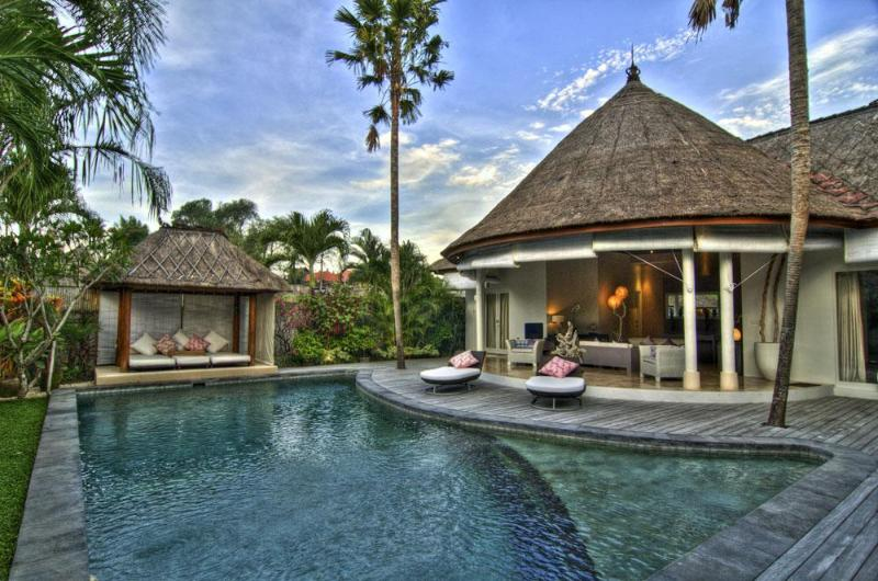 """Your private paradise! View from the Kitchen towards Bale and Living Area - Villa Bliss 2 near Seminyak """"Pure Bliss"""" - Seminyak - rentals"""