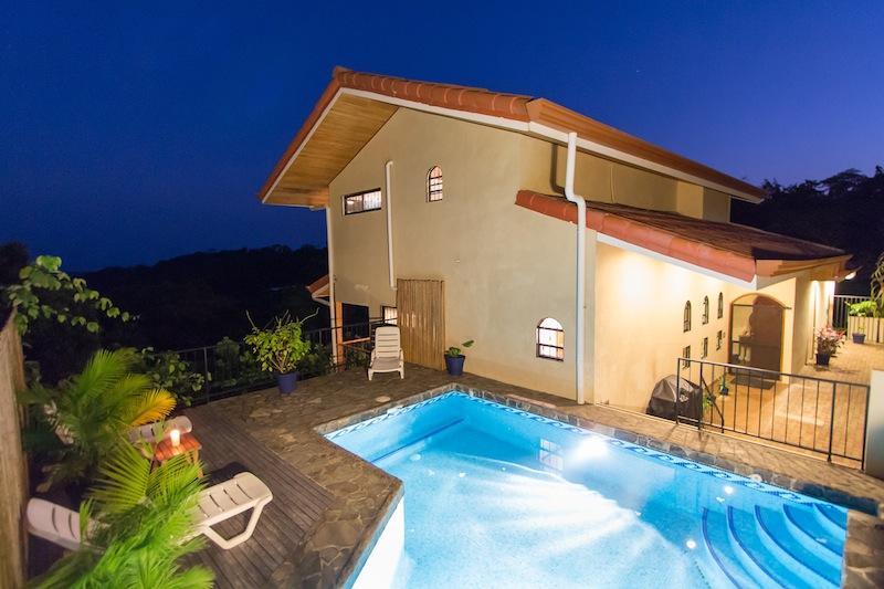 Casa Sophia by Night - Casa Sophia: Ocean Views & Privacy.  A Hidden Gem! - Manuel Antonio National Park - rentals