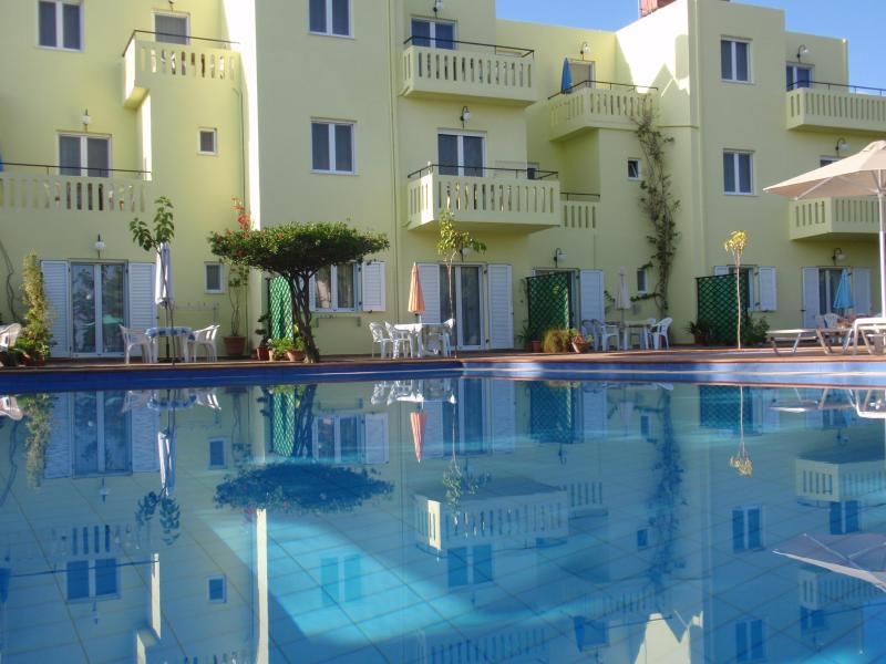 KALITHEA-APARTMENTS are charming with a large pool - Image 1 - Kalyves - rentals
