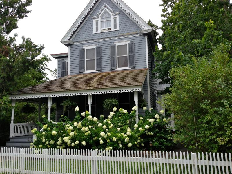 Front of the 1800's Victorian - Gorgeous Victorian on Beautiful Property - w/ 4 season room! - Cape May - rentals