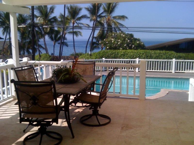 View from lanai - LOCATION, LOCATION, LOCATION - Kailua-Kona - rentals