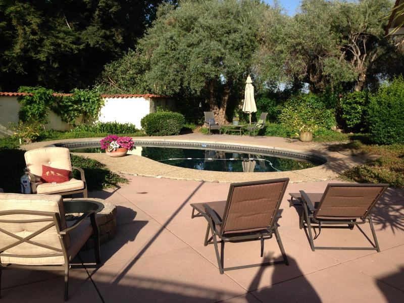 Courtyard - Rustic Spanish Oasis - Chico - rentals
