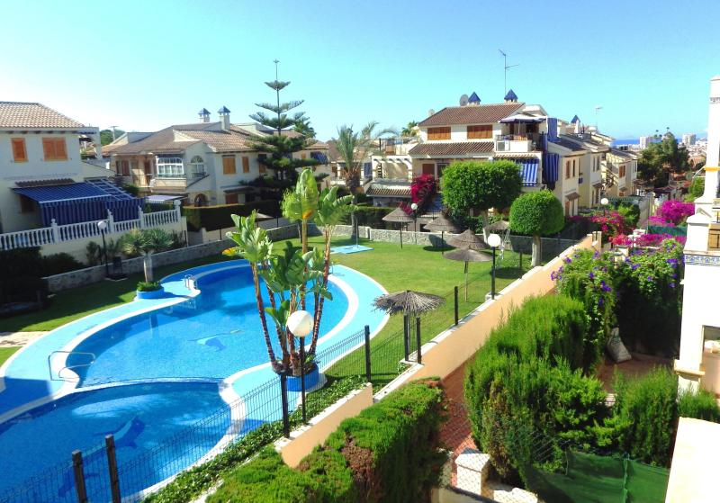 View from the terrace - 2 bedroom condo, 5 min to the beach - Torrevieja - rentals