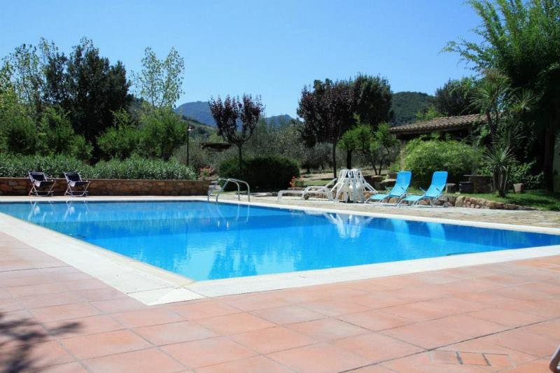 Swimming pool of Villa Melissa - Villa Melissa, swimming pool and tennis court - Cardedu - rentals