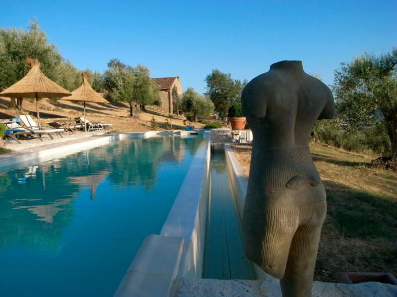Your secluded private 15 metre infinity pool - Romantic refuge for 4 with your own private pool. - Fontignano - rentals