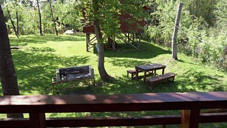 View from Balcony - Cabin with capacity up to 5 people - Tigre - rentals