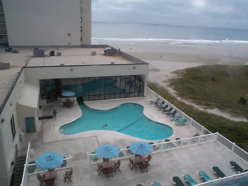 view from hallway of unit of beach - Buy 5 Nights Get 2  Free! Fall and Winter dates! - Myrtle Beach - rentals